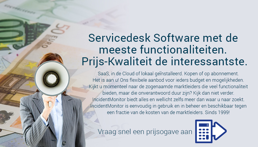 servicedesk en ITIL helpdesk software